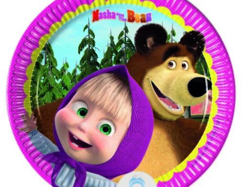 Festa per bambini Masha e Orso