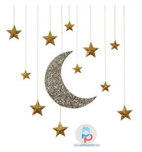 decorazioni feste oro stelle