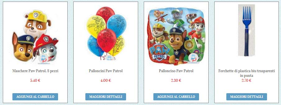 Amato Festa di compleanno a tema Paw Patrol - PalaParty ZX05