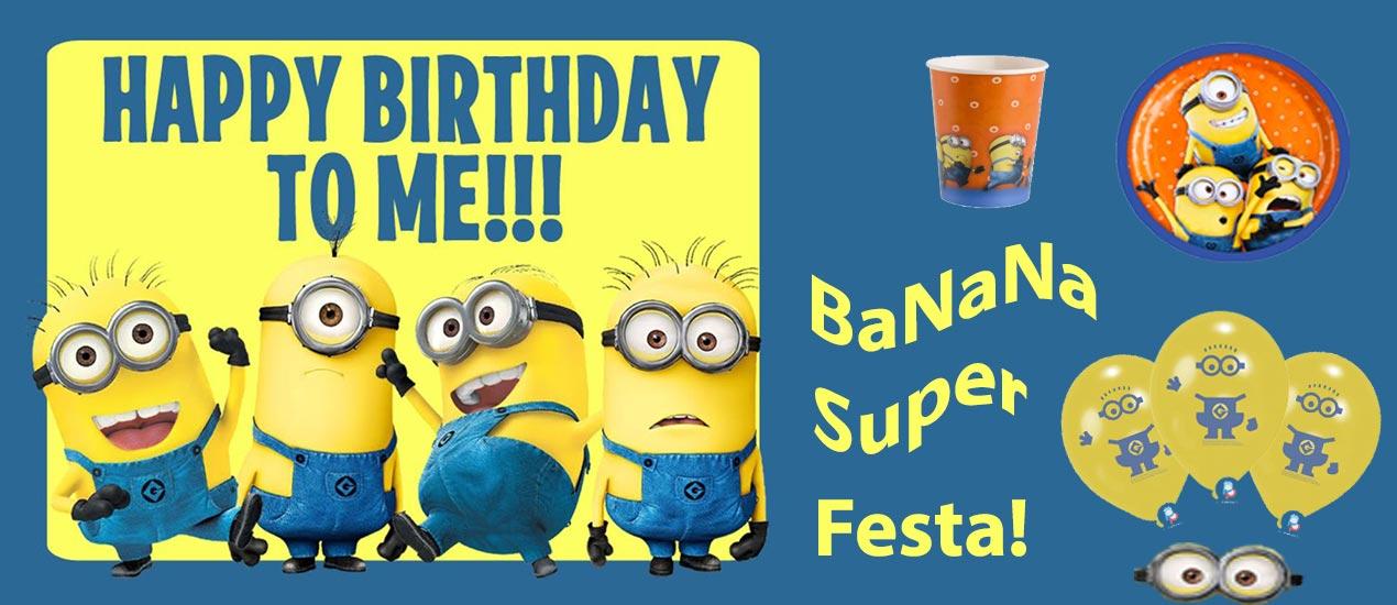 spesso Festa di compleanno a tema Minions – PalaParty SB52