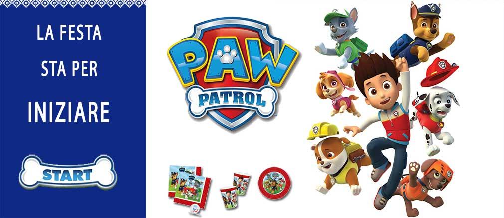 Festa di compleanno a tema Paw Patrol