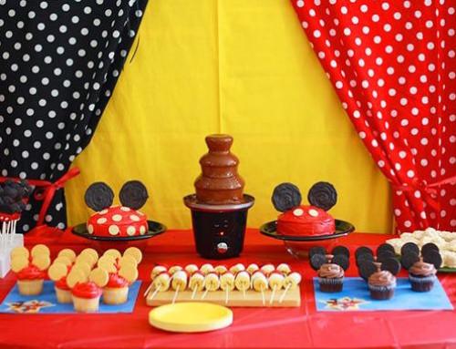 Idee per una festa Minnie e Topolino