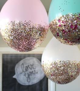 palloncini glitter