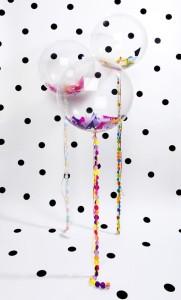 palloncini coriandoli