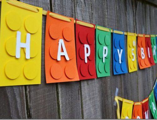 Festa di compleanno a tema Lego: il nostro coordinato tavola Lego Party e tante idee!