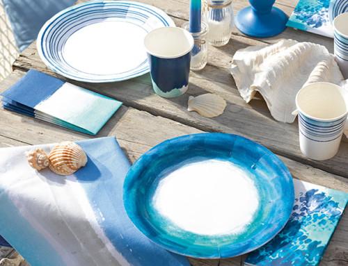 Cena estiva con amici in stile Costa Azzurra!