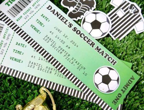Festa calcio: tante idee per organizzare un compleanno durante gli Europei