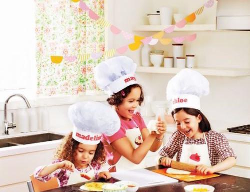 Piccoli chef per un giorno: come organizzare un cooking party per bambini