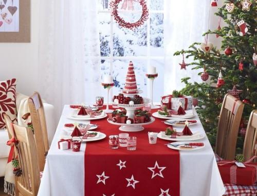 Tavola rossa natalizia: idee e prodotti da non perdere!