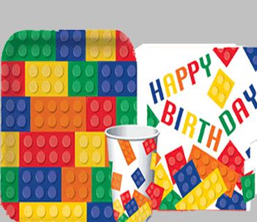 festa tema lego block