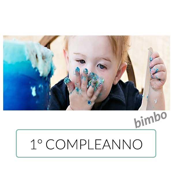 Festa primo compleanno bimbo secondo PalaParty