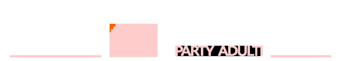 PalaParty feste a tema per adulti